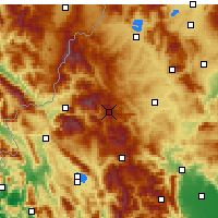 Nearby Forecast Locations - Vasilitsa - Map