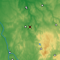 Nearby Forecast Locations - Saint-Fargeau - Map