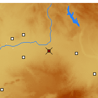 Nearby Forecast Locations - Villarrobledo - Map