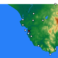 Nearby Forecast Locations - Puerto Real - Map