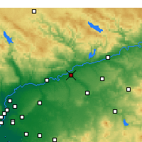 Nearby Forecast Locations - Palma del Río - Map