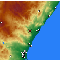 Nearby Forecast Locations - Onda - Map