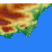 Nearby Forecast Locations - Níjar - Map