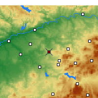 Nearby Forecast Locations - Montilla - Map