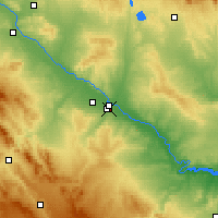 Nearby Forecast Locations - Delicias - Map
