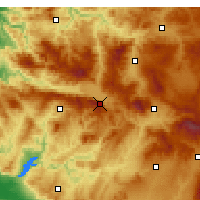 Nearby Forecast Locations - Simav - Map