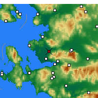 Nearby Forecast Locations - Menemen - Map