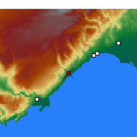 Nearby Forecast Locations - Erdemli - Map