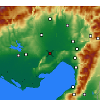 Nearby Forecast Locations - Ceyhan - Map