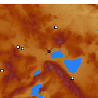Nearby Forecast Locations - Bolvadin - Map