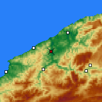 Nearby Forecast Locations - Çaycuma - Map