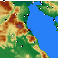 Nearby Forecast Locations - Platamon - Map