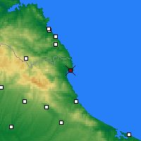 Nearby Forecast Locations - İğneada - Map