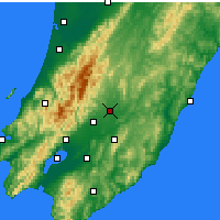 Nearby Forecast Locations - Masterton - Map