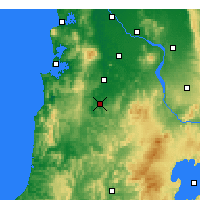 Nearby Forecast Locations - Te Kuiti - Map