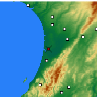 Nearby Forecast Locations - Foxton - Map