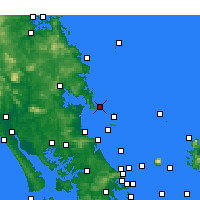 Nearby Forecast Locations - Bream Head - Map