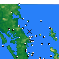 Nearby Forecast Locations - Te Arai Point - Map