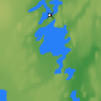 Nearby Forecast Locations - Gamèti - Map