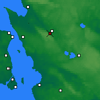 Nearby Forecast Locations - Ljungbyhed - Map