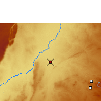 Nearby Forecast Locations - Mfuwe - Map