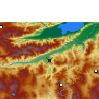 Nearby Forecast Locations - Zacapa - Map