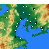 Nearby Forecast Locations - Tokoname - Map