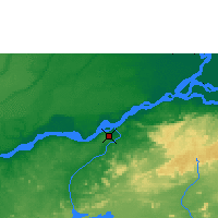 Nearby Forecast Locations - Ciudad Guayana - Map