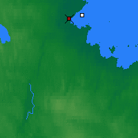 Nearby Forecast Locations - Belomorsk - Map