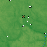 Nearby Forecast Locations - Borovsk - Map