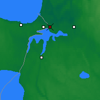 Nearby Forecast Locations - Ivangorod - Map