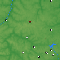 Nearby Forecast Locations - Yasnogorsk - Map
