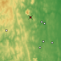 Nearby Forecast Locations - Kachkanar - Map