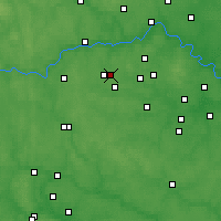Nearby Forecast Locations - Krasnoznamensk - Map