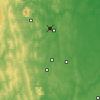 Nearby Forecast Locations - Lesnoy - Map