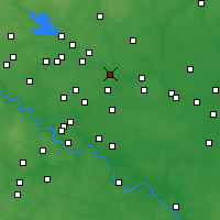 Nearby Forecast Locations - Losino-Petrovsky - Map