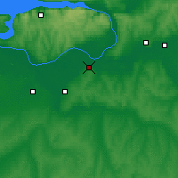 Nearby Forecast Locations - Novokuybyshevsk - Map