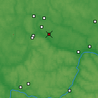 Nearby Forecast Locations - Zhukov - Map