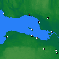 Nearby Forecast Locations - Zelenogorsk - Map