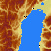 Nearby Forecast Locations - Severobaykalsk - Map