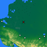 Nearby Forecast Locations - Slavyansk-na-Kubani - Map