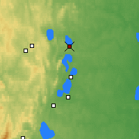 Nearby Forecast Locations - Snezhinsk - Map