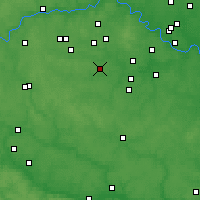 Nearby Forecast Locations - Troitsk - Map