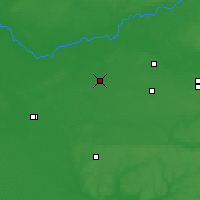 Nearby Forecast Locations - Borzna - Map