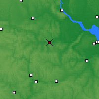 Nearby Forecast Locations - Korsun-Shevchenkivskyi - Map