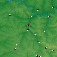 Nearby Forecast Locations - Kramatorsk - Map