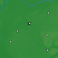 Nearby Forecast Locations - Nizhyn - Map