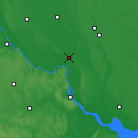 Nearby Forecast Locations - Pereiaslav-Khmelnytskyi - Map