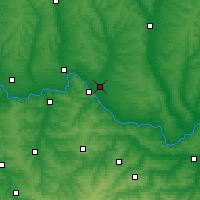 Nearby Forecast Locations - Sievierodonetsk - Map