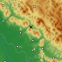 Nearby Forecast Locations - Svaliava - Map
